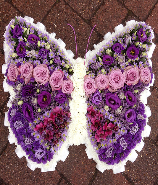Butterfly Funeral Tribute 2