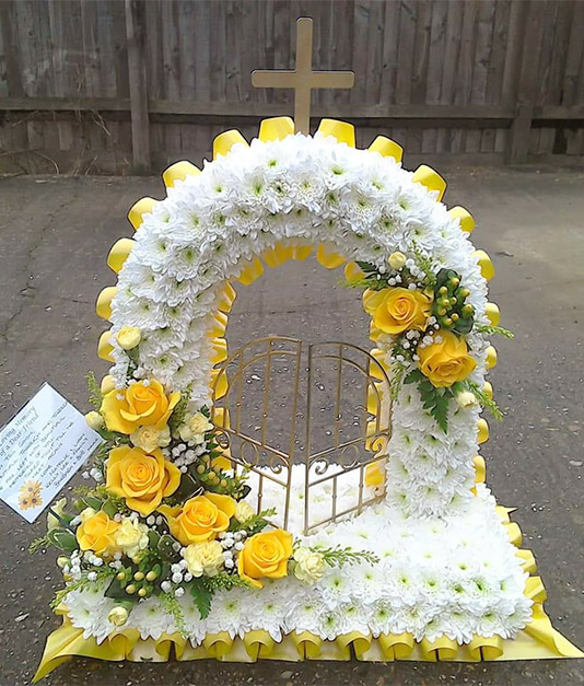 Gates to Heaven Funeral Tribute